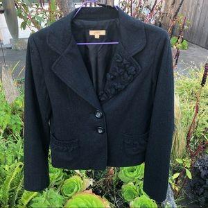 Jackets & Blazers - Charcoal Gray Blazer Jacket. JALOUX. Size L